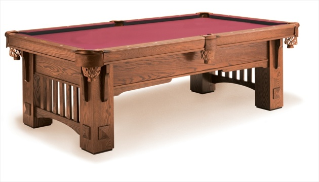 wooden pool table light plans