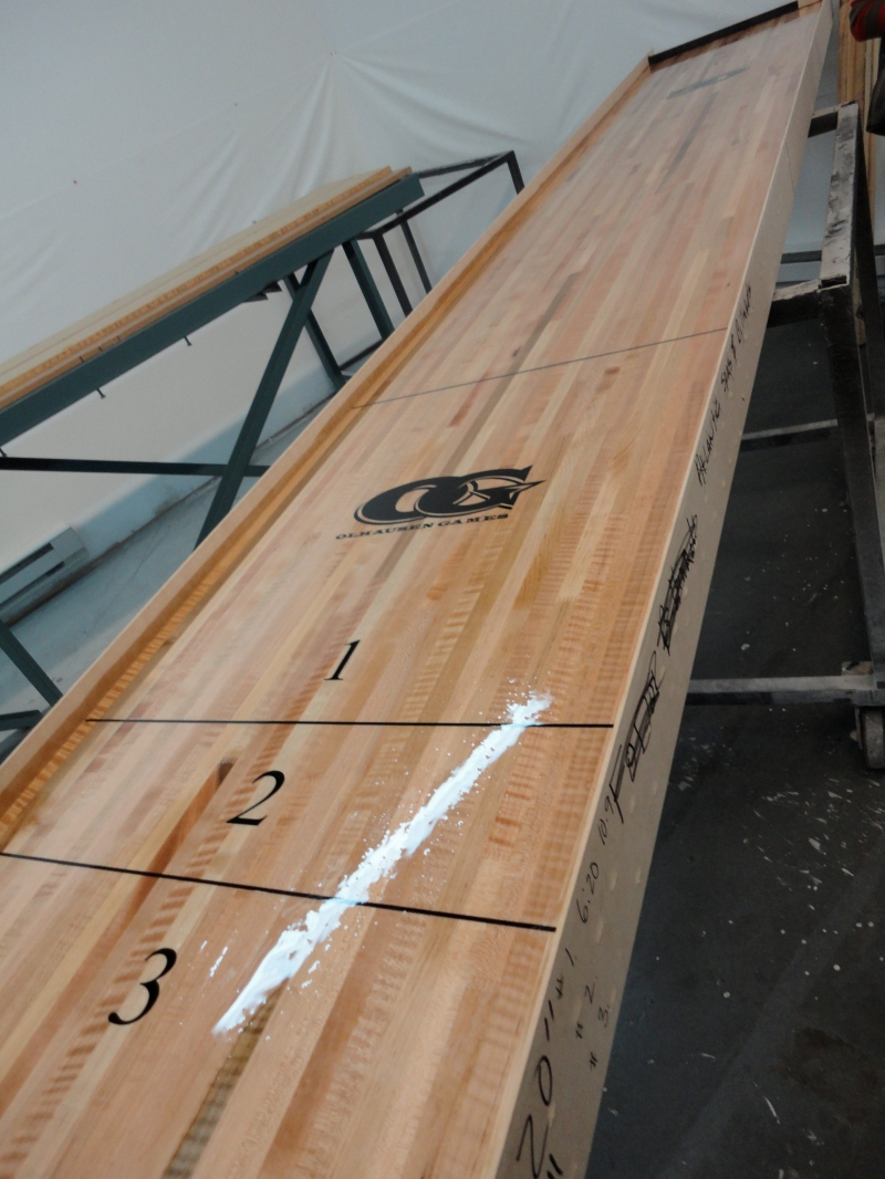 shuffleboard table building instructions