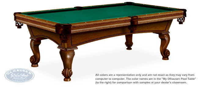 Santa Ana Pool Table By Olhausen Billiards
